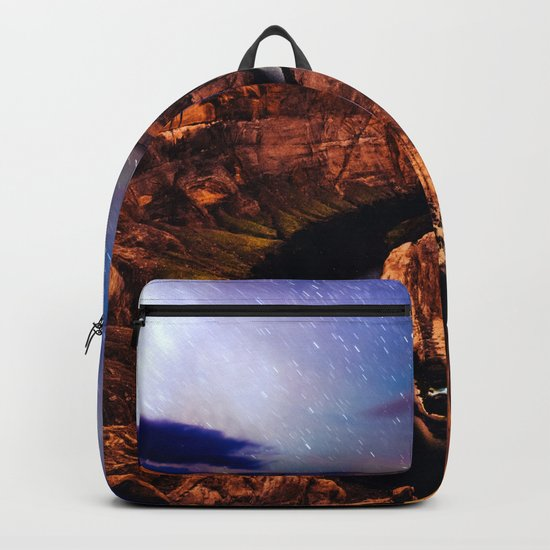 Horseshoe Bend Starseeds - Starry Sky Night at Grand Canyon Arizona Backpack