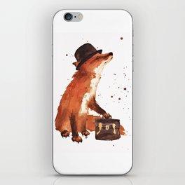 Downtown Fox iPhone Skin