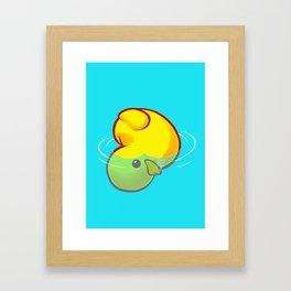 Quack's the Point? Gerahmter Kunstdruck