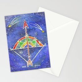 Zodiac Collection: Sagittarius Stationery Cards