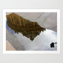 Oxford Reflections Art Print