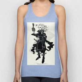 Space pirate Unisex Tank Top