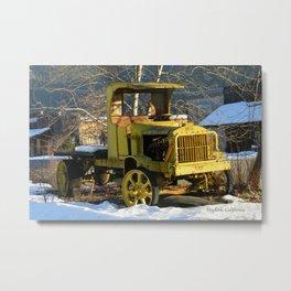 1912 Chevrolet Utility truck Metal Print