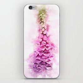 Digitalis Splash iPhone Skin