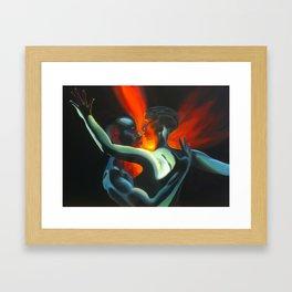 Body Soul & Mind Framed Art Print