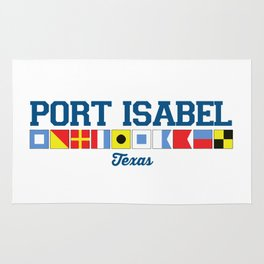 Port Isabel. Rug