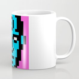 Dr. Manhattan Pixel Portrait Coffee Mug