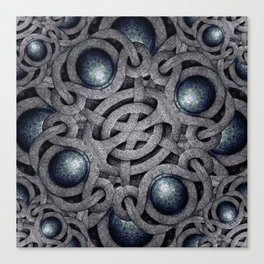 Celtic Ornament Pattern Art  Canvas Print
