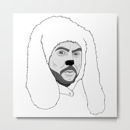 Wilfred Metal Print