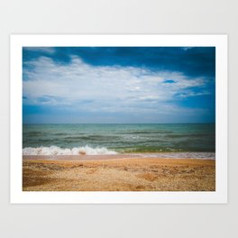 Black sea Art Print