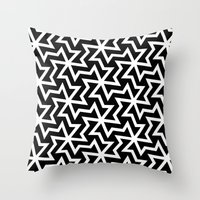 arabic Throw Pillows featuring Arabic by Patterns and Textures