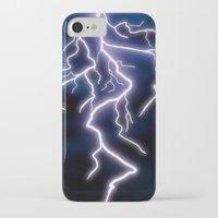 lightning iPhone & iPod Cases featuring lightning by Li-Bro