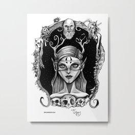 Spirit Of The Woodland Flood Metal Print