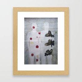 Soul mates Framed Art Print