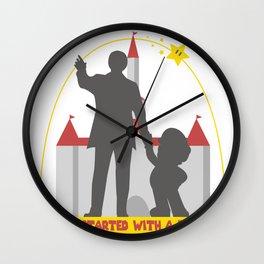 Super Partners Wall Clock