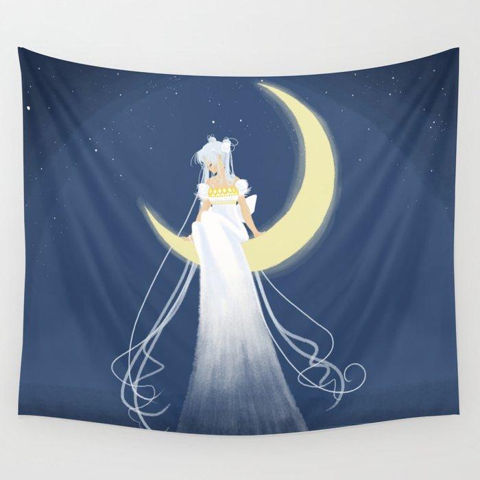 Moon Princess Wall Tapestry
