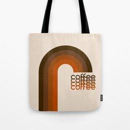 Cocoa Coffee Rainbow Tote Bag