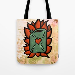 Huachicolero heart Tote Bag