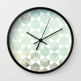 Geometric Sand & Sea Wall Clock