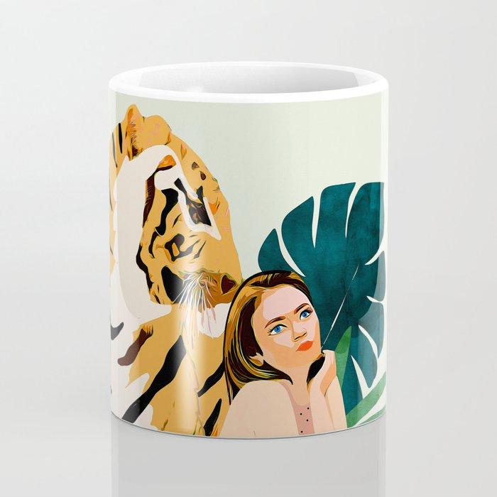 Tiger Spirit Coffee Mug