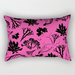 Seaweed Pink Pattern Rectangular Pillow