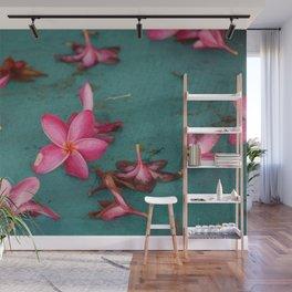 Tropical Flower Wall Mural