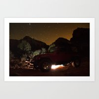 jeep Art Prints featuring Jeep by SachelleJuliaPhotography