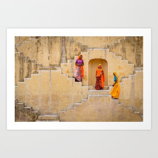 Amber Stepwell, Rajasthan, India by mattbrandon