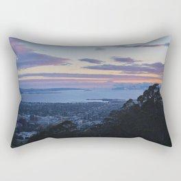 Magic Hour from UC Berkeley view of SF Rectangular Pillow