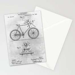 1896 Military bicycle Stationery Cards