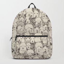 just alpacas natural Backpack