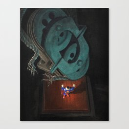 Man of Steel? Canvas Print
