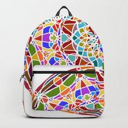 Mandala pattern colored Backpack