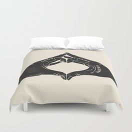 Clutch Brake Vrooom light Duvet Cover