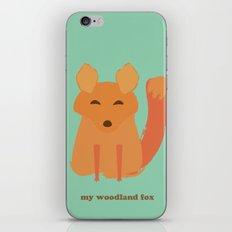 My woodland fox iPhone & iPod Skin