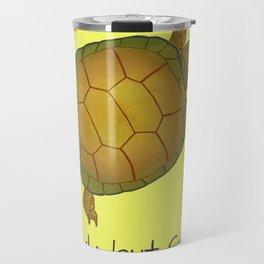 Turtle - Slowly but Surely - Lazy Animals Travel Mug