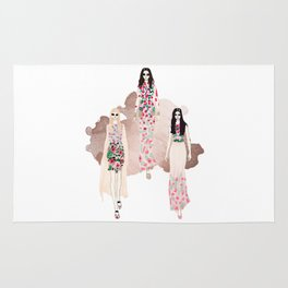 Fashion Vignette - May 2017 Rug