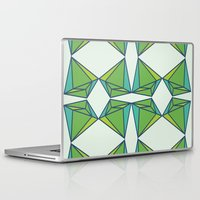 emerald Laptop & iPad Skins featuring Emerald by Tess Ellis