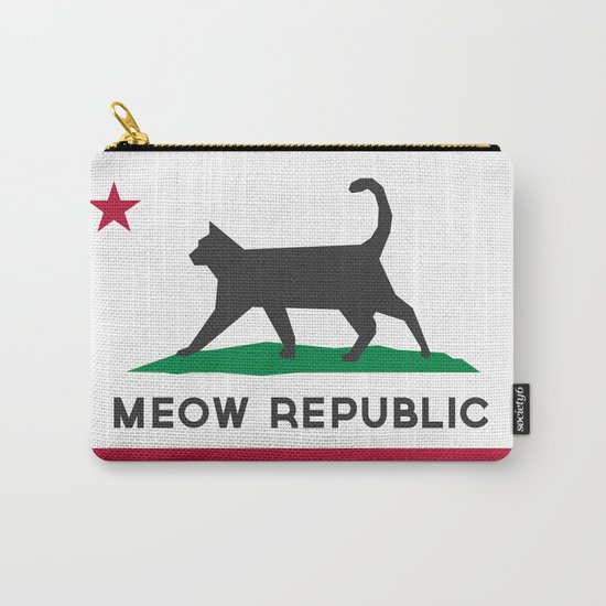 Meow Republic - Flag of Catifornia Carry-All Pouch