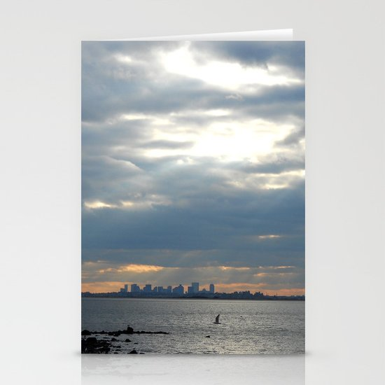 North Shore View Stationery Cards