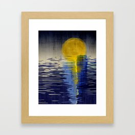 Moonrise Framed Art Print
