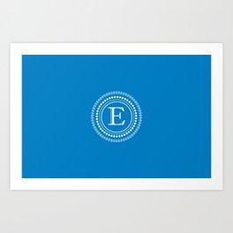 The Circle of E Art Print
