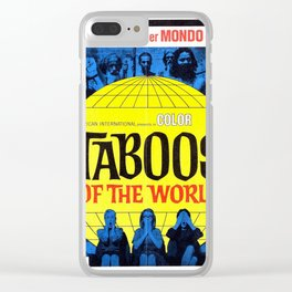 Taboos of the World Clear iPhone Case