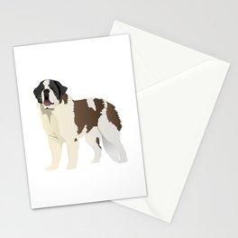 Saint Bernard Dog Stationery Cards