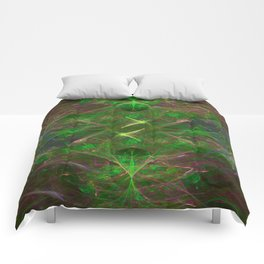 Filaments of Creation, fractal image. Comforters