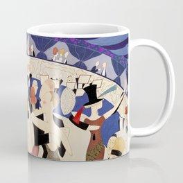 Dancing couples in jazz age nightclub Coffee Mug