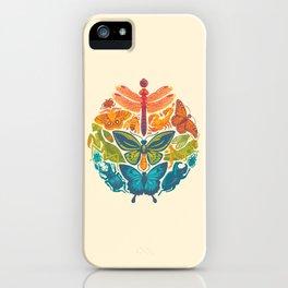 Bugs & Butterflies iPhone Case