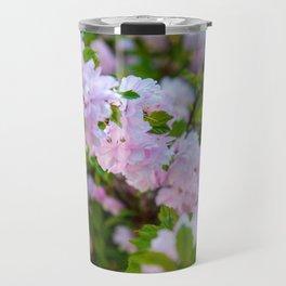 Double Flowering Plum Travel Mug