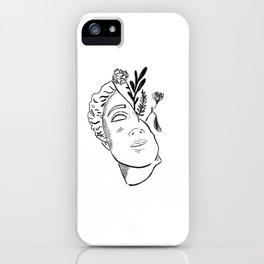 Greek Floral Goddess iPhone Case