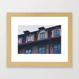 mason triangle  Framed Art Print